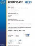 Hafele - Sertifikat ISO9001